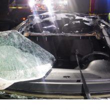 Praėjusią parą per eismo įvykius nukentėjo šeši žmonės
