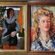 Parko galerijoje – moterys iš paveikslų, moterys šalia mūsų
