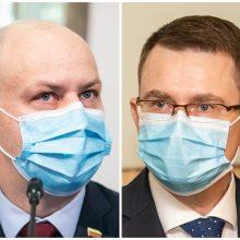 A. Veryga sukritikavo A. Dulkio koronaviruso valdymo strategiją: aš matau daug blaškymosi