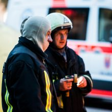 Kaišiadorių rajone pranešta apie degantį namą: išsiųstos gelbėjimo tarnybos