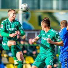 Prieš Lietuvos futbolo A lygos čempionato pabaigtuves – skirtingos nuotaikos