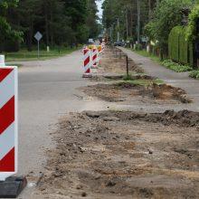 Pokyčiai Kačerginėje: rekonstruoja pagrindines gatves