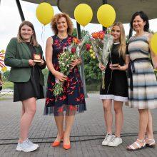 Pagerbti Kauno rajono mokiniai olimpiadų laimėtojai