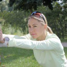 Olimpinį sidabrą parvežusi L. Asadauskaitė: dukteriai daviau žodį, kurį turėjau ištesėti