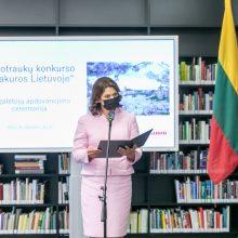 """Nacionalinėje Martyno Mažvydo bibliotekoje atidaryta fotografijų paroda """"Sakuros Lietuvoje"""""""