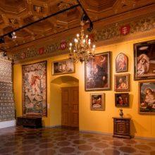P. Kiznio paveikslų galerijos pristatymas Valdovų rūmuose: taip nutinka kartą per šimtmetį