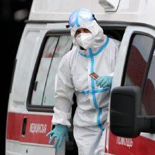 Rusijoje – daugiau nei 8,2 tūkst. naujų COVID-19 atvejų, mirė 355 pacientai