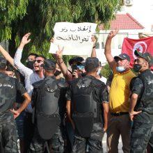 Pasaulis reaguoja į politinius neramumus Tunise