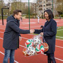 Vilnius tempo nelėtina: užbaigtas jau dešimto mokyklos stadiono remontas