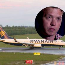 """Tyrimas dėl Minske nutupdyto lėktuvo užsitęs: prokurorai pasigenda """"Ryanair"""" bendradarbiavimo"""