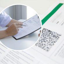 Pradėtas ikiteisminis tyrimas: gydytoja klastojo duomenis, kad žmonės gautų galimybių pasus