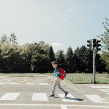 Beveik 40 proc. eismo įvykiuose nukentėjusių pėsčiųjų – vaikai