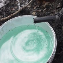 Plungės rajone rasta naminės degtinės ir aparatas jai gaminti
