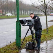 Neramios dienos greičio mėgėjams: Klaipėdos gatvėse – nauji greičio matuokliai