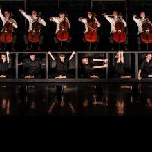 """""""Salve Musica"""": šokis susipins su gyva violončelių muzika"""