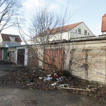 Naujas miesto pirkinys – dar vienas garažas