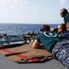 Didėja Lietuvos indėlis jūrinėse misijose