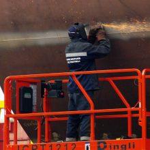 Kitataučių darbas uoste: daugiausia ukrainiečių