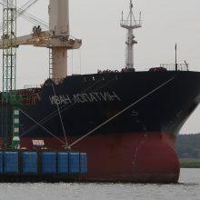 Leido bylinėtis su Rusijos laivybos kompanija