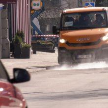 Kaunas neapsisprendžia: dezinfekuoti gatves ar pradėti nuo parkų