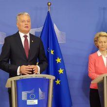 G. Nausėda apie ES sankcijas Baltarusijai: tai buvo sudėtingas procesas