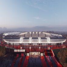 Vilniaus valdžia uždegė žalią šviesą nacionalinio stadiono statybų sutarčiai