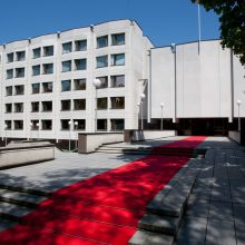 Nuspręsta tvarkyti Vyriausybės rūmus: remonto nematė nuo statybos laikų