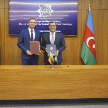 Lietuva ir Azerbaidžanas stiprina bendradarbiavimą