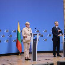 Artėjant NATO viršūnių susitikimui Baltijos šalių premjerai priėmė bendrą pareiškimą