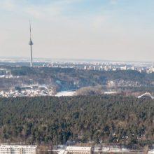 Iššūkis architektams: Vilnius statys naują pėsčiųjų tiltą per Nerį