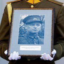 Lietuva ketina įamžinti partizanų vado Vanago atminimą – statys paminklą