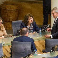 Seimo valdyba negalėjo apsispręsti dėl įstatymo projekto ekspertinio vertinimo
