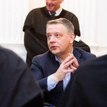 """""""MG Baltic"""" korupcijos bylos posėdyje parodymus davė E. Masiulis"""