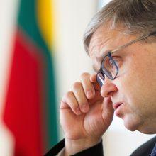 Seimas nepritarė rezoliucijai dėl nepasitikėjimo V. Vasiliausku
