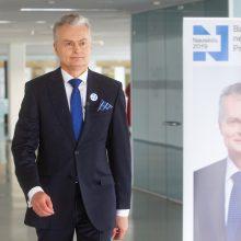 VRK konstatavo pažeidimą dėl G. Nausėdos reklamos – apsiribota įspėjimu