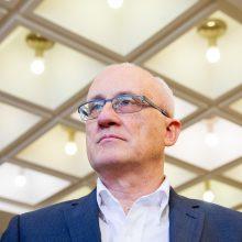 S. Jakeliūnas sako pajuokavęs apie traukimąsi iš Europos Parlamento