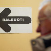 Antras turas: galima balsuoti iš anksto renkant tris Seimo narius