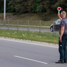 Netikėtas policijos reidas: ieškojo pavyzdingų vairuotojų