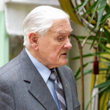 V. Adamkus: Lietuvos visuomenė nėra ekologiškai brandi