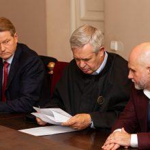 R. Pakso ir G. Vainausko byloje vėl pasikeitė teisėjas