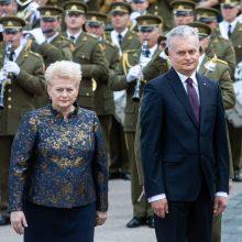 D. Grybauskaitė pirmojo vizito vyko į Švediją, G. Nausėda – į Lenkiją