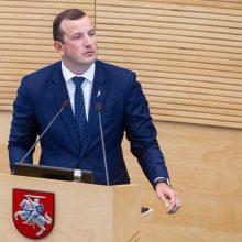 Seimas pritarė: V. Sinkevičius – Lietuvos kandidatas į eurokomisarus