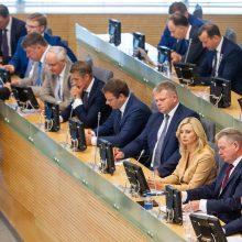 S. Skvernelio Vyriausybei Seimas iš naujo suteikė įgaliojimus