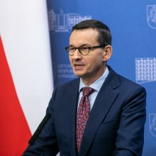 M. Morawieckis: Lenkija remia Lietuvos ieškinį prieš Mobilumo paketą
