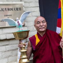 Tibeto parlamento atstovas prašo Seimo pagalbos derantis su Kinija