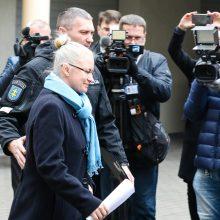 Panevėžio teismas toliau nagrinės N. Venckienės bylą