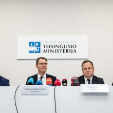 Ministerija siūlo dekriminalizuoti dalį turtinių ir ekonominių nusikaltimų