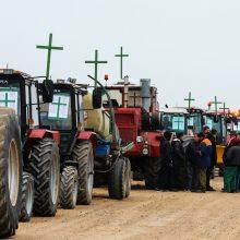 Lietuvos ūkininkai kyla į protestą: traktoriai važinės ir Vilniuje
