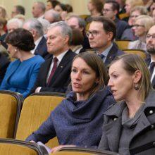 Į Prezidentūrą neįleistai V. Kuodytei prezidentas įteiks Nacionalinę premiją