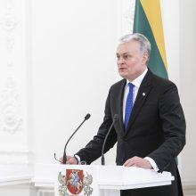 G. Nausėda: bandoma istoriją paversti politikos tarnaite